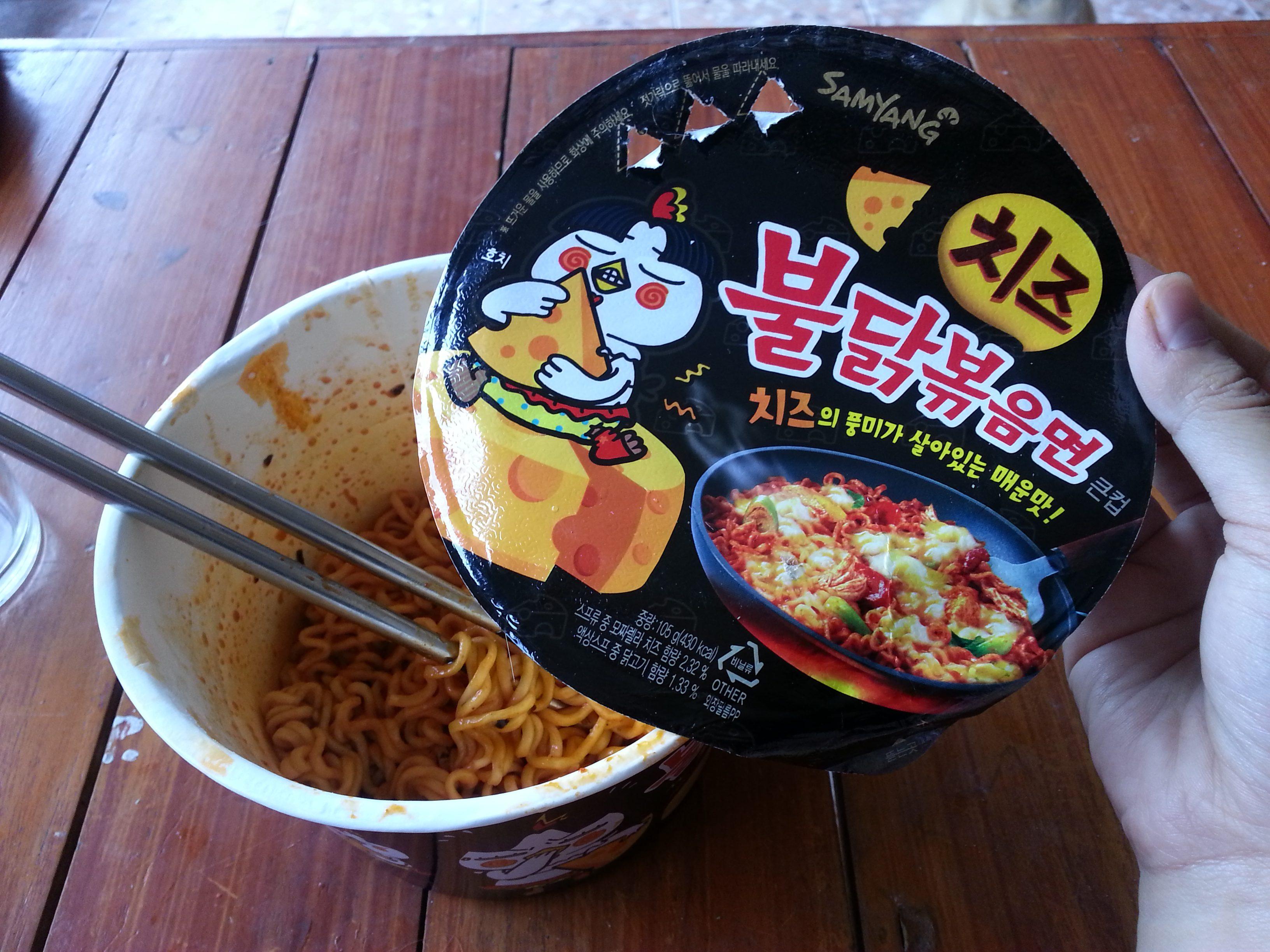 รีวิว มาม่าเผ็ดโคตรรสชีสของเกาหลีที่สุดฮิต!