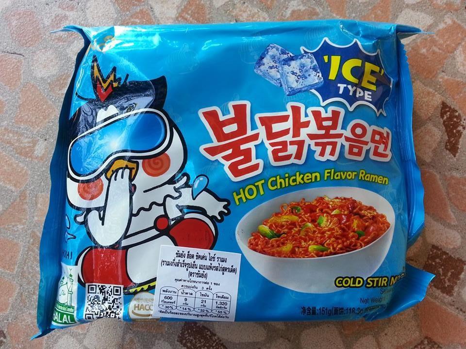 รีวิวมาม่าโคตรเผ็ดเกาหลีสูตรเย็น